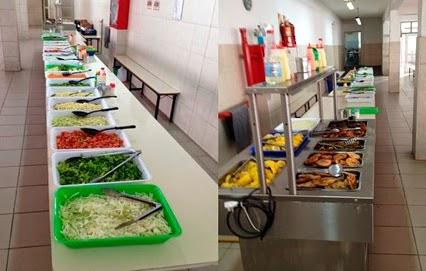 Colegio parroquial san juan xxiii nuevo servicio de for Comedor industrial buffet