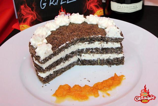makovy dort prirozene bez lepku mascarpone