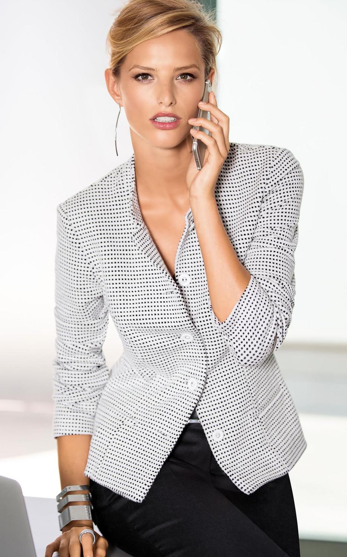 Madeleine Jersey Jacket