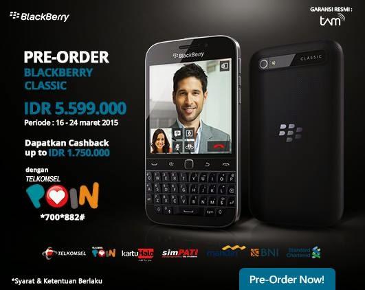 Promo Preorder BlackBerry Classic