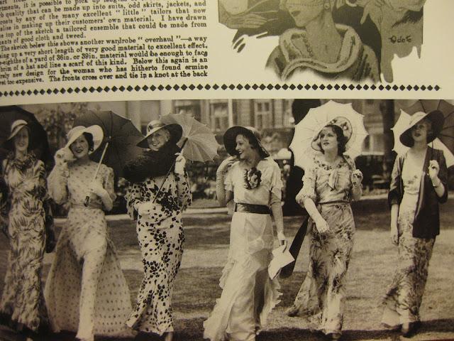 vaatteet 30-luvulla