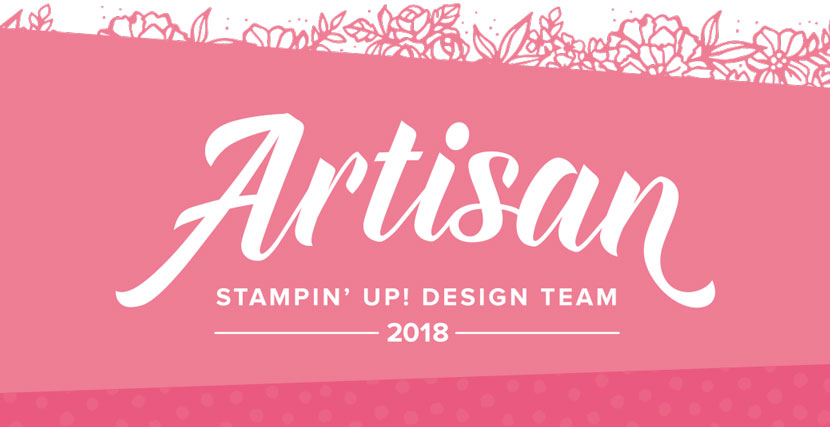 Artisan Design Team Member 2018!