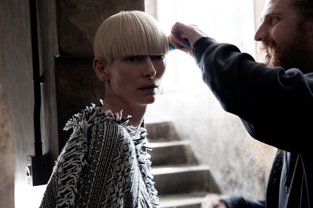 tilda swinton pringle. AW11: TILDA SWINTON