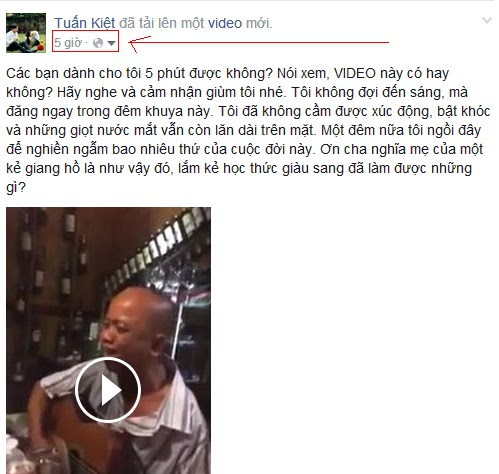 Download video tu Facebook ve may tinh