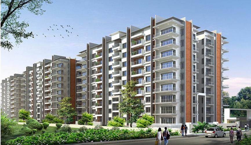 Awesome home design with plans 2 bhk and 3bhk flats at for 1 bhk home designs