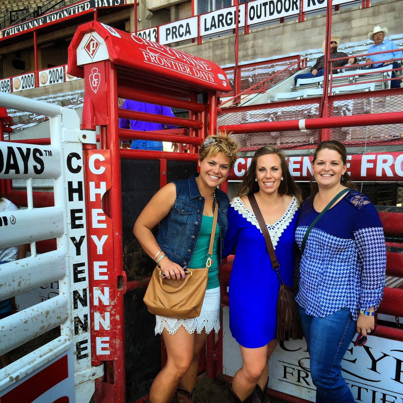 Buckin Shoots at Cheyenne