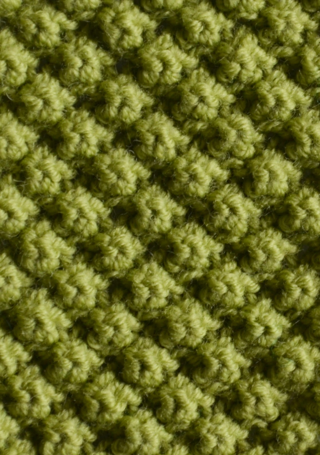 Textured Knits: BRAMBLE STITCH