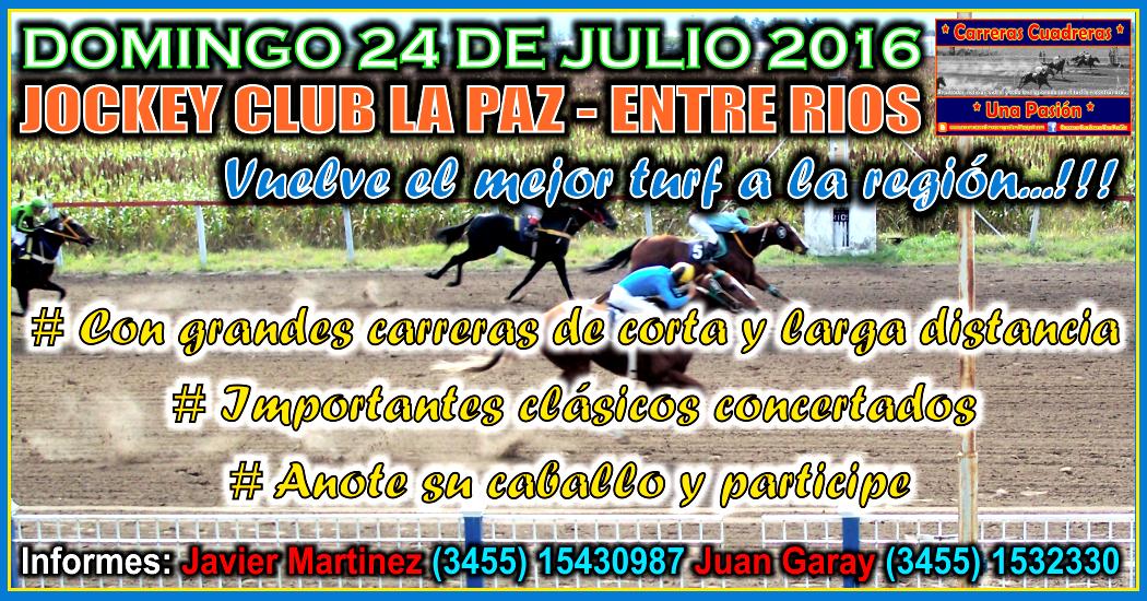 LA PAZ - 24.07.2016