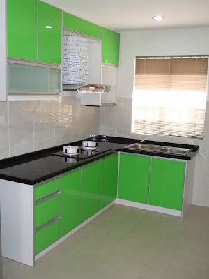 gambar desain dapur minimalis mewah