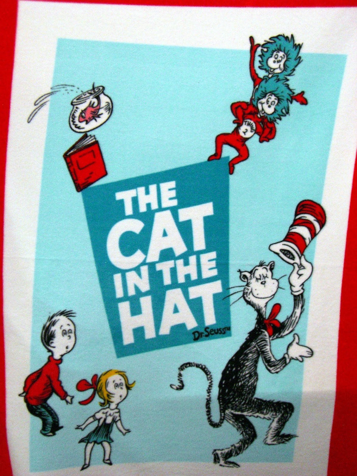The Hat Book With the cat in the hat