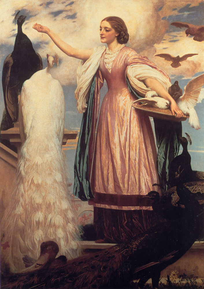 lord frederick leighton peacocks