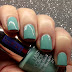 Nail Swatch: Pupa Lasting Color Gel 060 Navy Chic Aquamarine