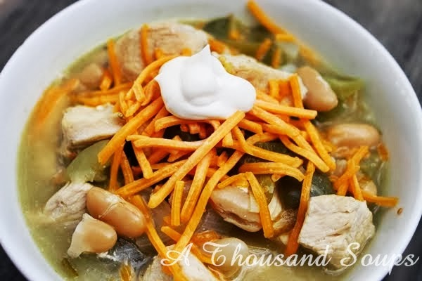 Green Chili with Chicken