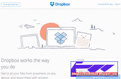 situs penyimpan file dropbox gratis