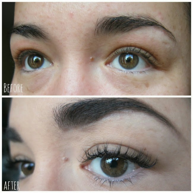 Christoph Couture Lash Extensions Before and After
