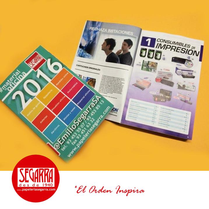 Catalogo de material de oficina 2016 for Consumibles oficina
