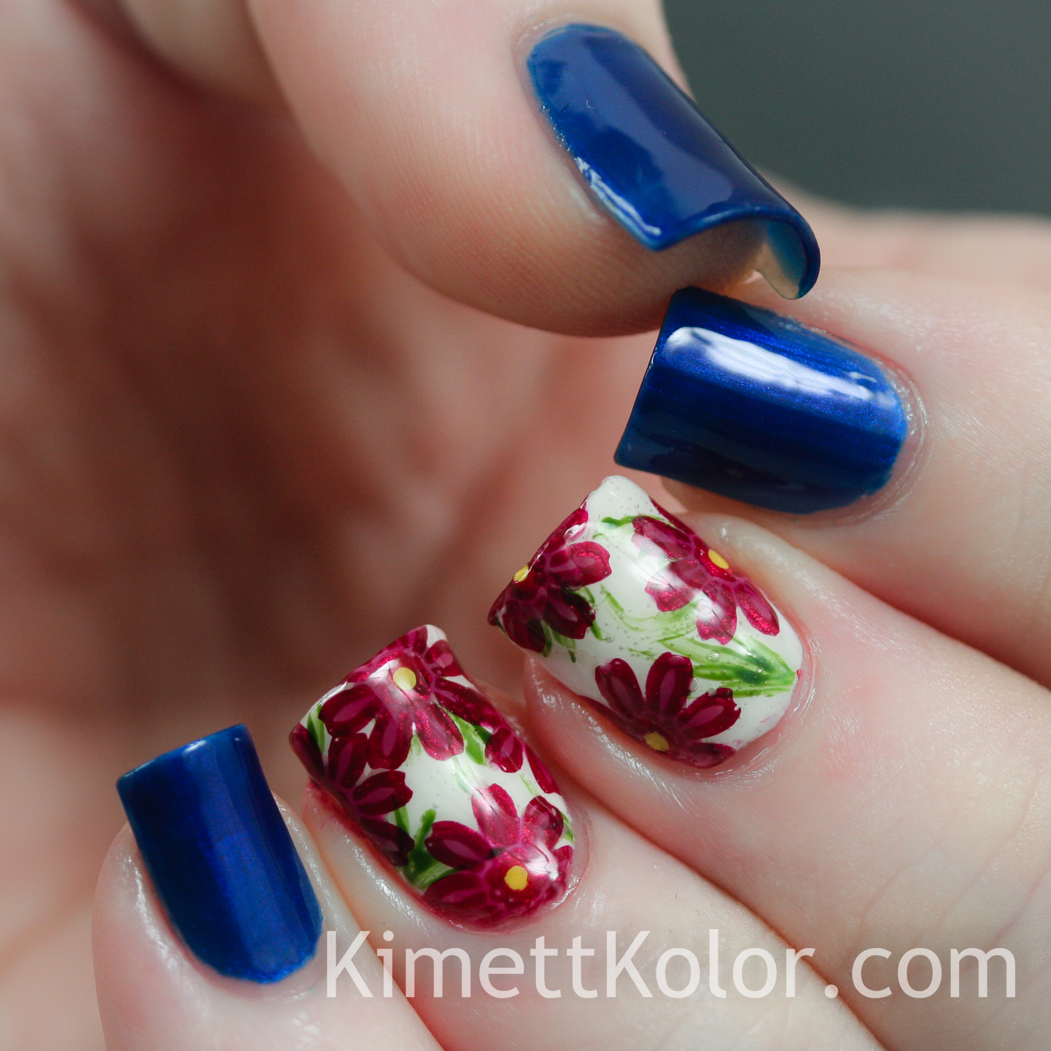 Theme of the Month: September Sapphire and Asters | Kimett Kolor
