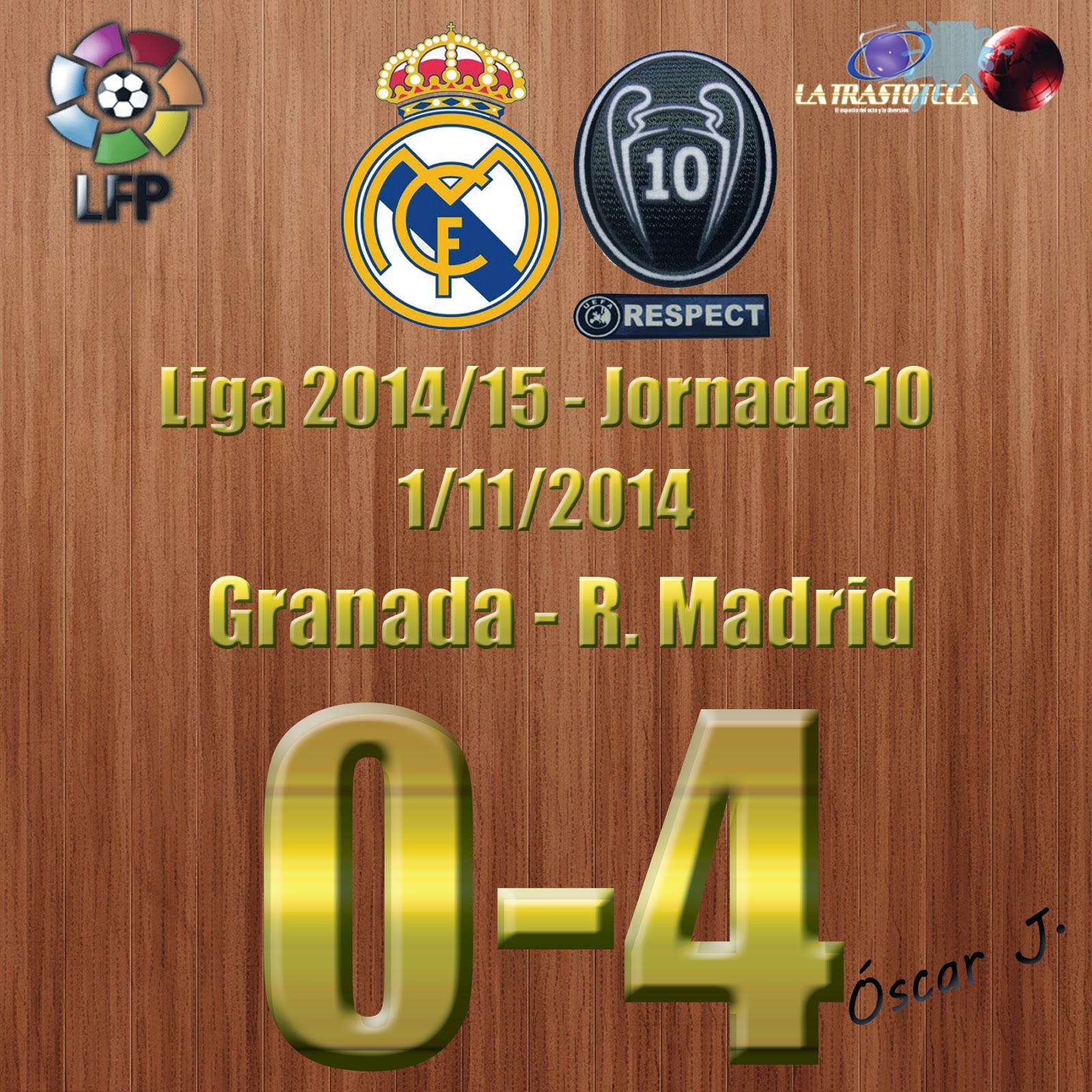 Granada 0-4 Real Madrid