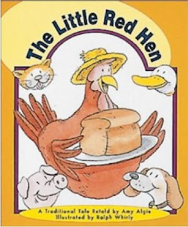 bookcover of Little Red Hen by Amy Algie
