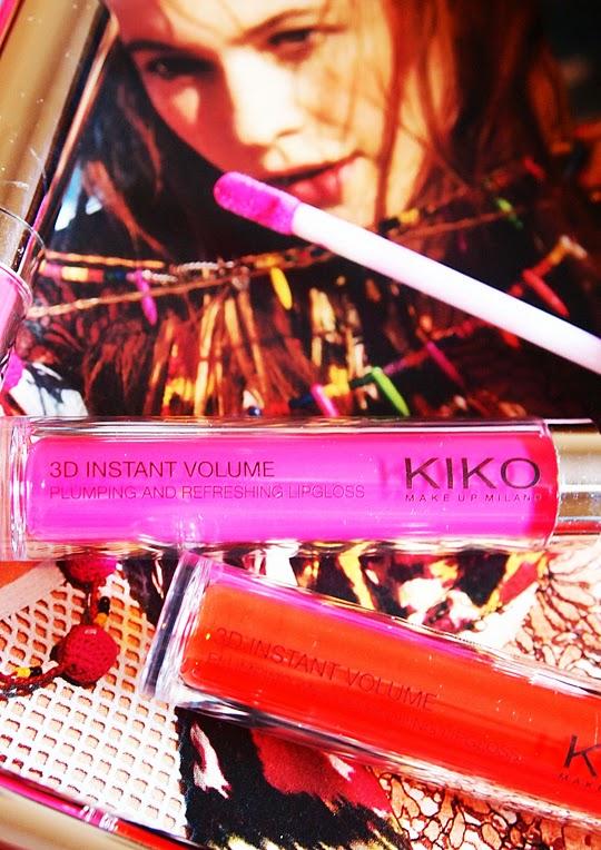 Kiko 3D Instant Volume Lipgloss