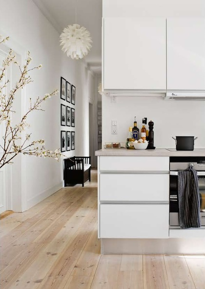 Black and White Framed Kitchen Pictures