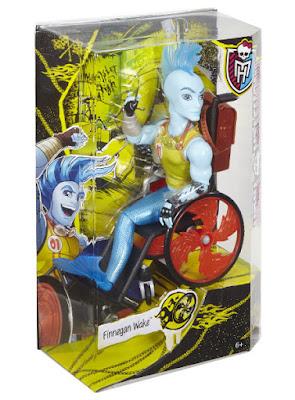 TOYS : JUGUETES - MONSTER HIGH  Finnegan Wake | Muñeco  Producto Oficial 2015 | Mattel CKT04 | A partir de 6 años  Comprar en Amazon España & buy Amazon USA