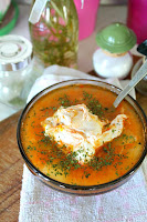 http://theseamanmom.com/chicken-vegetable-egg-soup-with-whole-eggs/