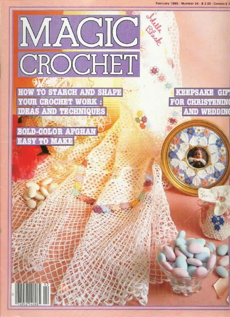 Magic Crochet : Magic Crochet No. 34 ~ Free Crochet Patterns