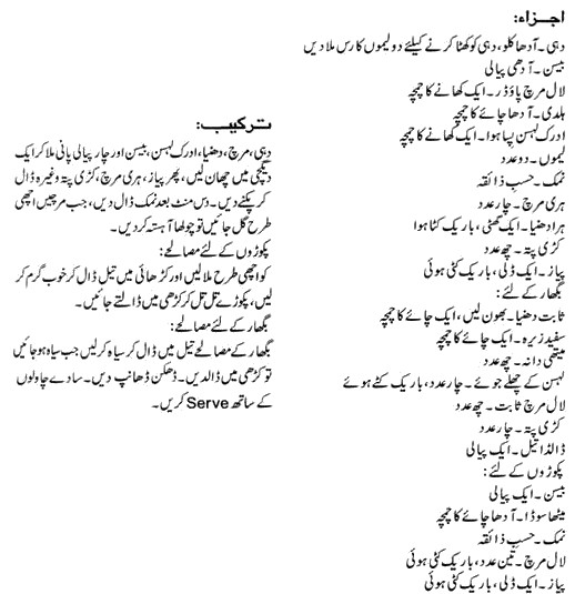 Kadhi pakora recipe in urdu apna food kadhi pakora recipe in urdu thecheapjerseys Choice Image