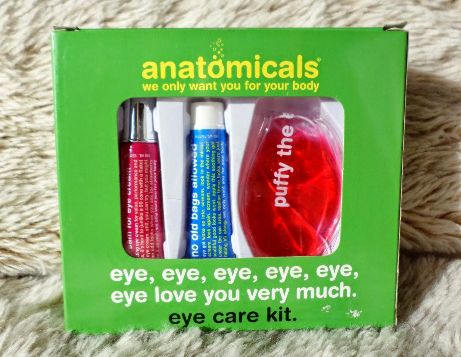 Anatomicals eye, eye, eye, eye, eye, eye love you very much eye care kit