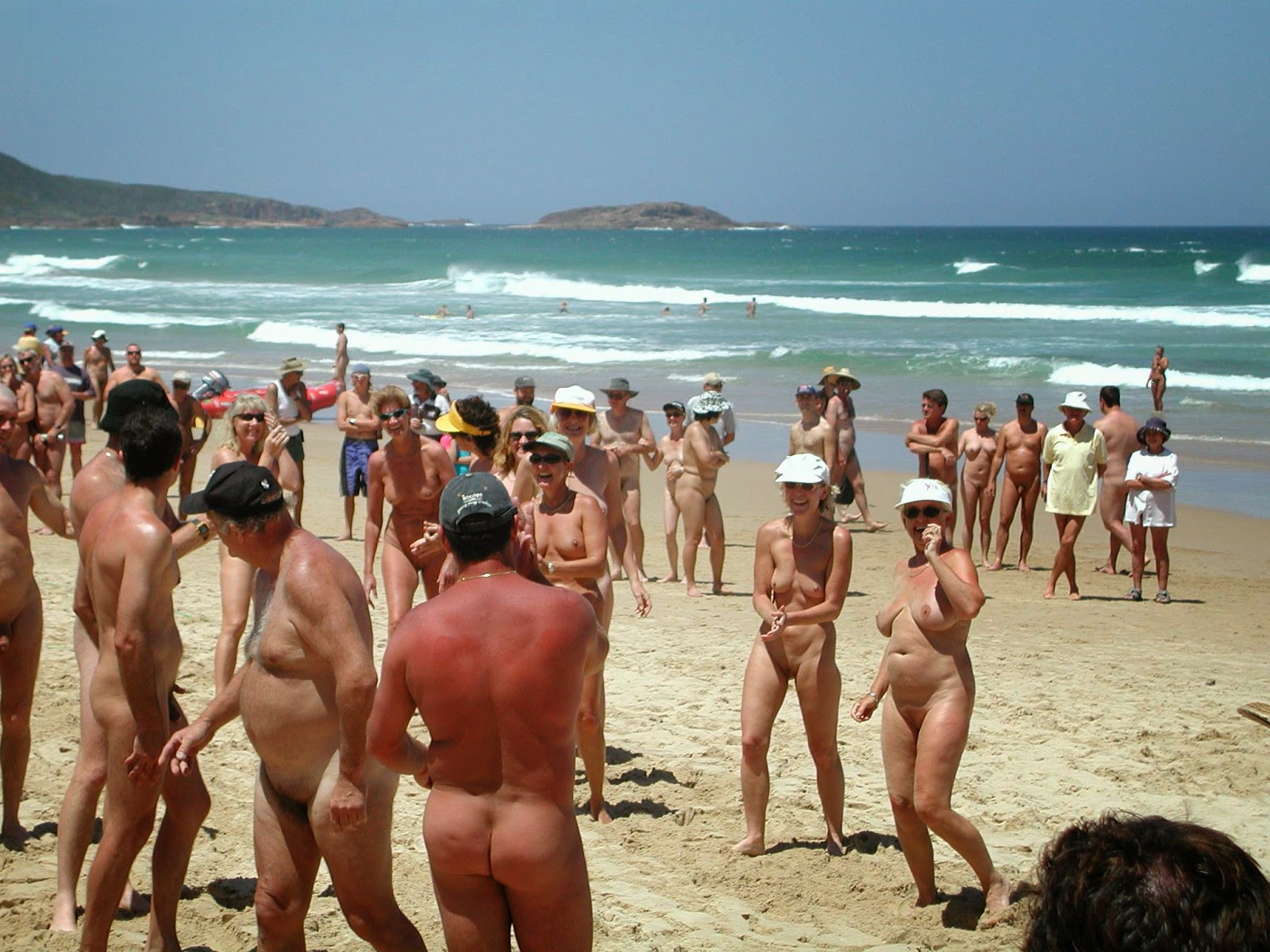 Adelaide nudist beach