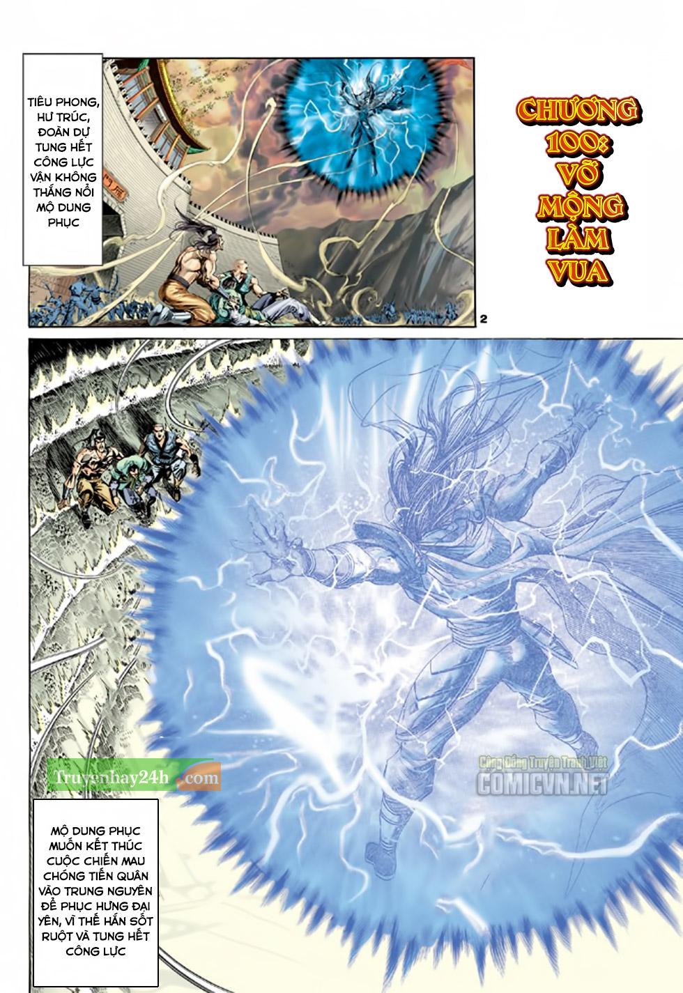 Thiên Long Bát Bộ chap 100 - Trang 3