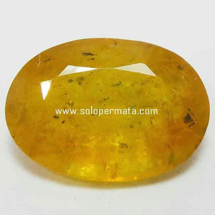 Batu Permata Yellow Sapphire - 21B04