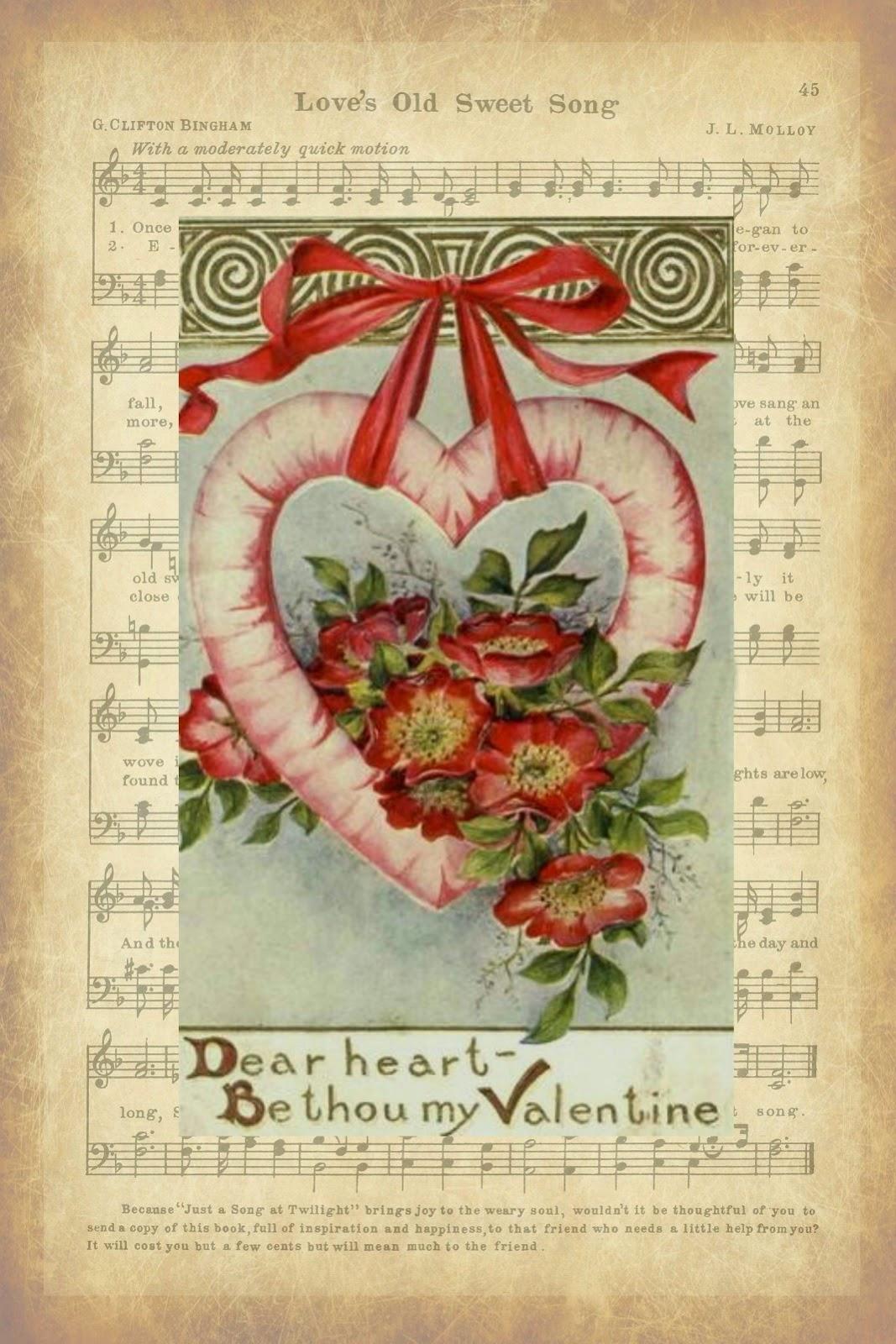 Valentine Printable, Valentine Decorations, Vintage, Vintage Valentine, Vintage Valentine Postcard, Valentine Decor, Love Quote, Quotation, Quote