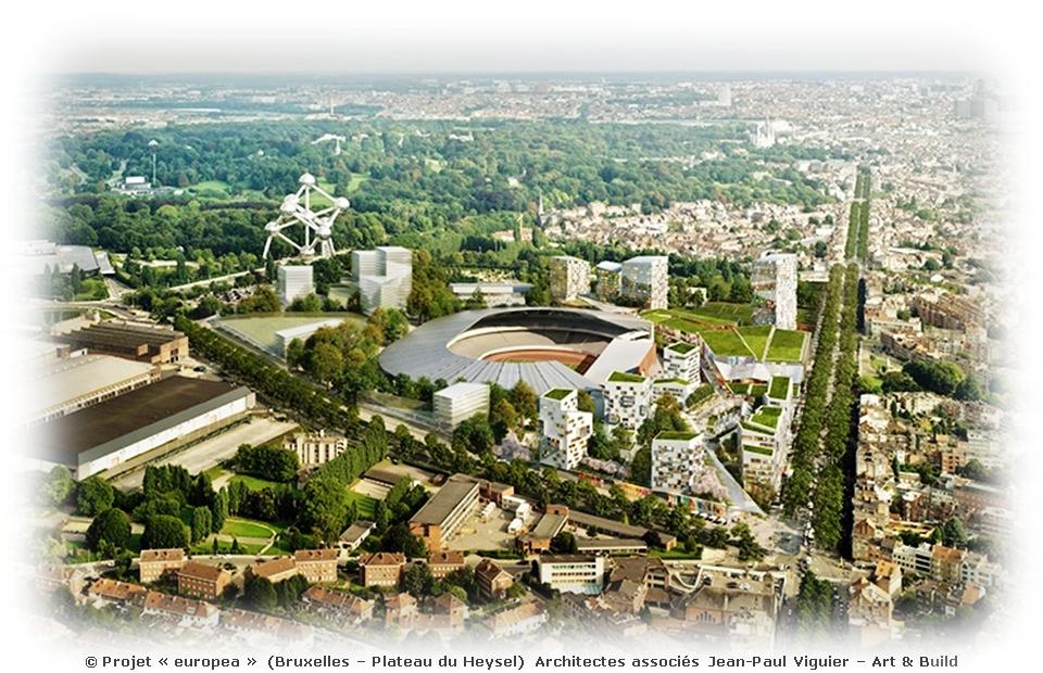 EUROPEA - NEO change de nom, de look et d'objectifs - Urbanisation du plateau du Heysel - Bruxelles-Bruxellons