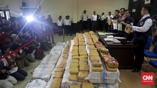 Amankan Narkotik Senilai Rp 17 Miliar, Polisi Selamatkan 95 Ribu Jiwa