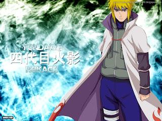 Yondaime Hokage Namikaze Minato The Yellow Flash Naruto Black