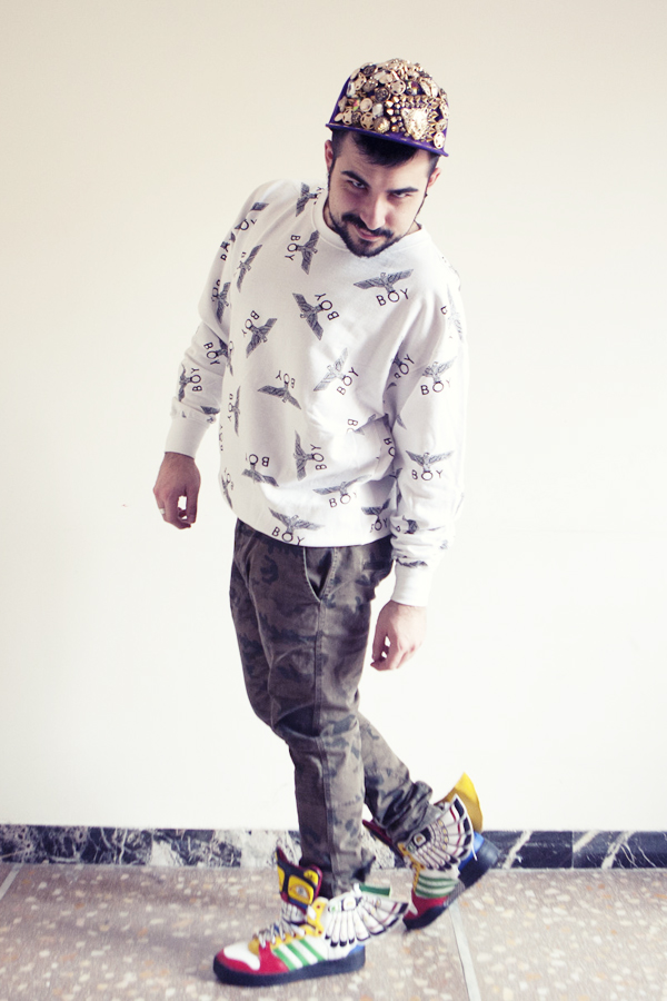 guy overboard, fashion blogger uomo