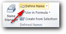 Define Name di Ms Excel