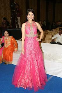 Surabhi in Stunning Sleelvess Maroon Gown Stunning Beauty Must see