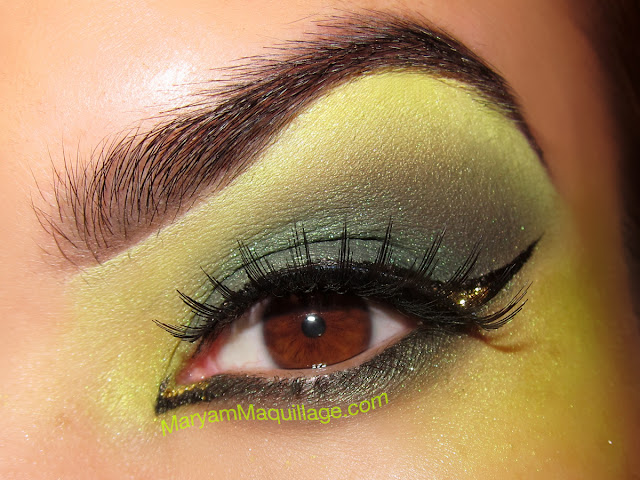 Displaying (19) Gallery Images For Green Witch Eye Makeup...