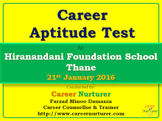 Career Aptitude Test and Career Counselling in Thane