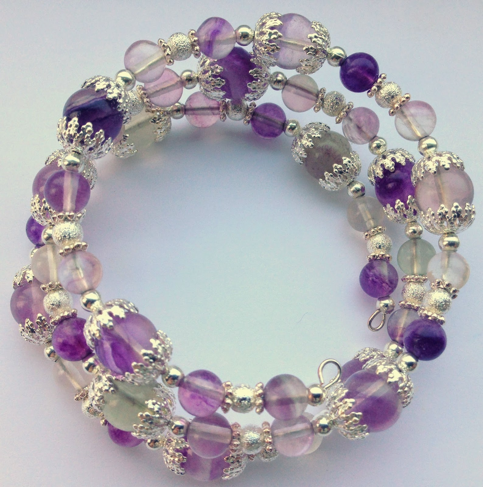 Artful Evidence: Memory Wire Bracelets