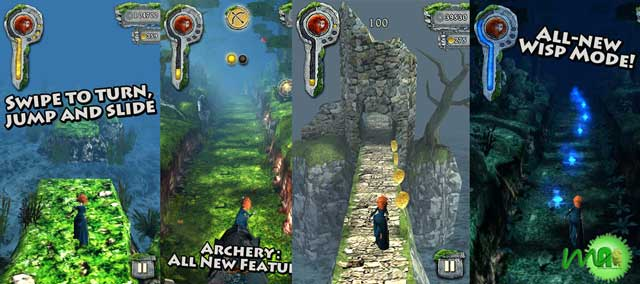 Temple Run: Brave apk Screenshot
