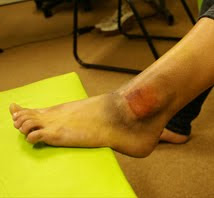 Maquiagem tornozelo