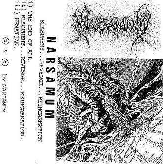 Blasphemy...Revenge...Reincarnation Narsamum, Narsamum Death Metal Band from Malaysia, Narsamum, Death Metal Band from Malaysia