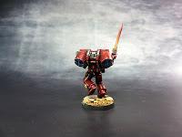 Blood Angels - Escuadra de Asalto - Warhammer 40000 - Sargento 4