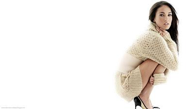 Megan Fox White Wallpapers