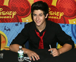 David Henrie at the World of Disney store