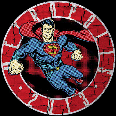 Metropolis Ilinois Superman Celebration 2013 Shirt Design GeekSummit Man of Steel Henry Cavill 75th Birthday June 2013 1938